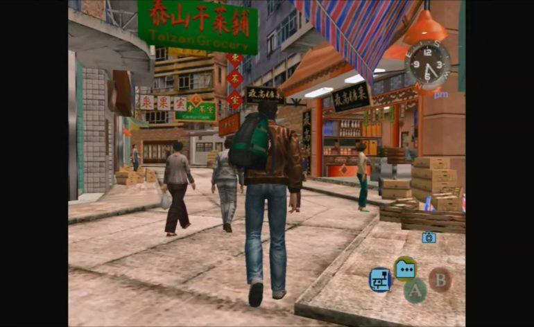 Shenmue 2 Green Market Qr. Gameplay in 1 Minute.mp4 snapshot 00.26 2016.08.03 17.12.30