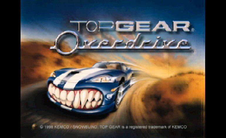 Top Gear Overdrive Japan