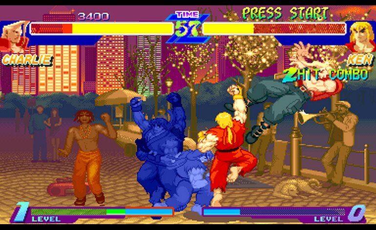 Street Fighter Alpha Warriors Dreams 950727 USA Phoenix Edition Bootleg