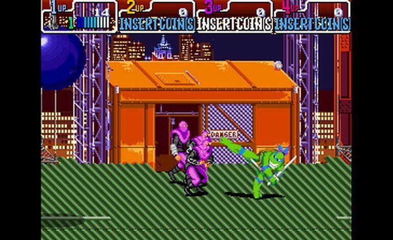 Teenage Mutant Ninja Turtles Turtles in Time 4 Players ver. UAA